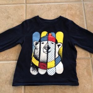Gap long-sleeved t-shirt with Polar bear